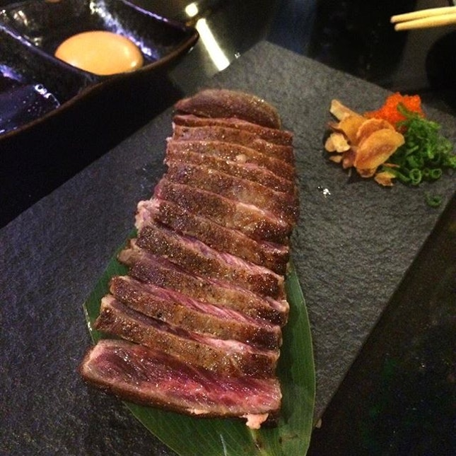 Sirloin Steak, Medium Rare to Perfection 💯 .