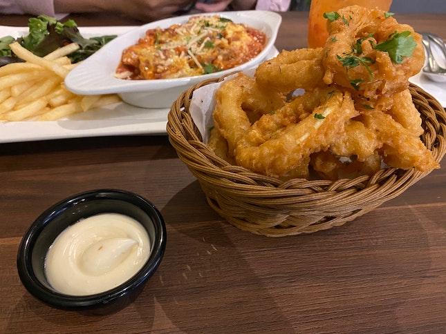 Calamari And Lasagna