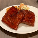 St Louis Style Barbecue Pork Ribs ($36)