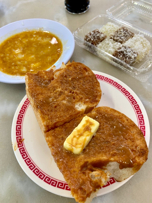 Kaya Toast And Eggs