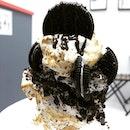 Giant cone with marshmallow meringue 🍦✨ #21cubeartisanicecream #burpple