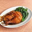 1/4 Soya Sauce Chicken ($7.5)