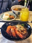 Mee Siam ($10.8), Lime Juice ($2.5)