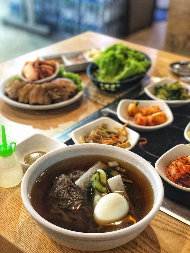 Authentic Korean Dinner