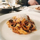 As part of the lunch set (S$48++), I chose the tagliatelle oxtail ragu as my choice of pasta.