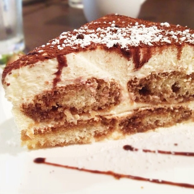 After so many years their tiramisu is still a favourite.