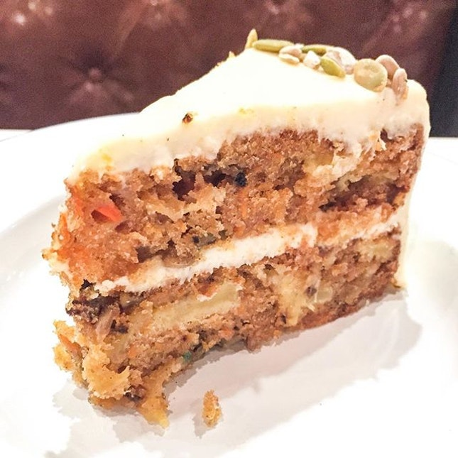 Extremely dense and moist carrot cake from The Bakehouse, located at the newly opened Park Hotel Alexandra.