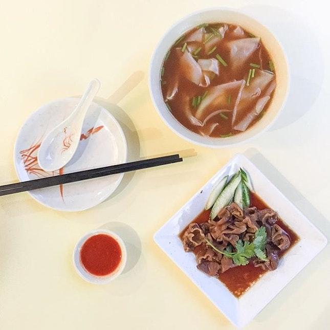 Didn't know Teochew Cuisine Restarant serves kway chap!