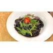 | 🍝 Black and Savoury Squid Ink Pasta 。...
