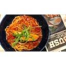 | 🍝 Asian Style Salmon Fillet Pasta 。...