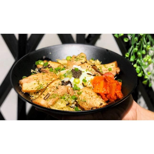 | 🍱 Tasty Truffle Char Siew Donburi !...