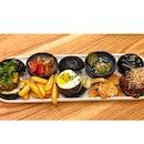 | 🍔 Triple Mini Wagyu Beef Burgers !...