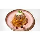 🥞 A Mix of Sweet & Salty on Soufflé 。...