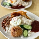 Nasi Lemak Basmati rice really adds a whole new dimension to the rice making it fluffy and fine.