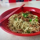 Oil town Sarawak noodles Somehow I keep reading the name as OLD town!