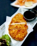 Chicken Tonkatsu Loving this chicken Katsu which is fried to perfection.