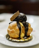 Profiterole This puff is certainly as good as it looks.