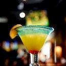 Tropical Sunrise Margarita  This is @chilissingapore trademark Margarita.