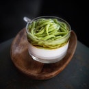 Chendol Panna Cotta One of the best chendol rendition I tried is this chendol panna cotta!