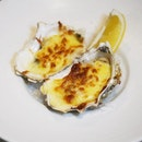 Baked Live Oysters  This dish which is part of a 4 course Fine Dining menu from @eaglewingsloft really won me over!