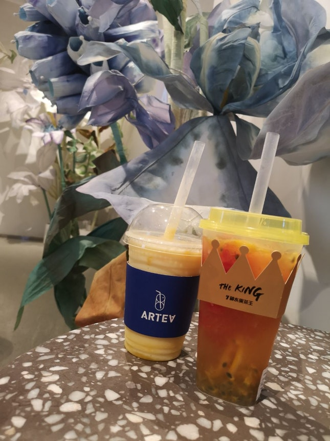 Try Their Mango Milkshake
