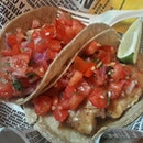 I always love their Fish Tacos with lots of hot sauce.