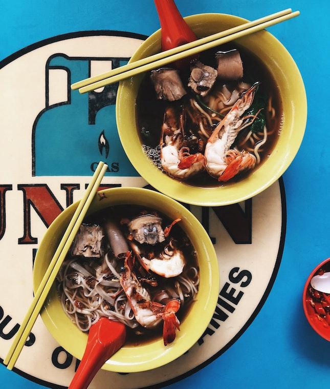 My Prawn Noodles Go To!