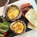 Cheese Grilled Portobello Mushrooms!