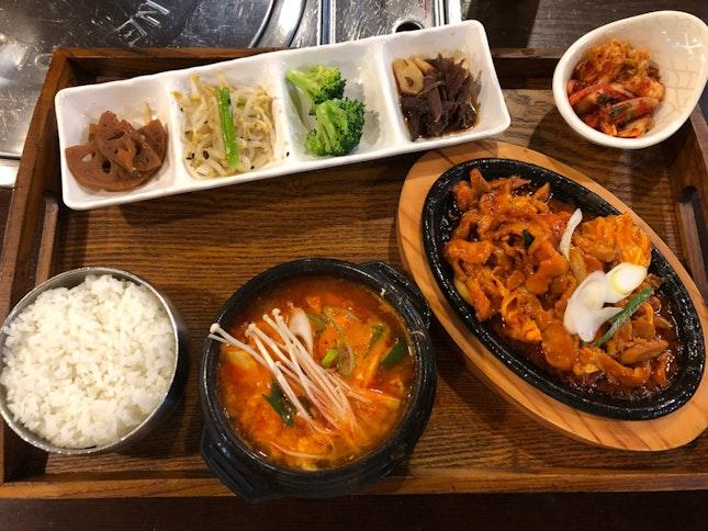 Affordable Korean Lunch Sets