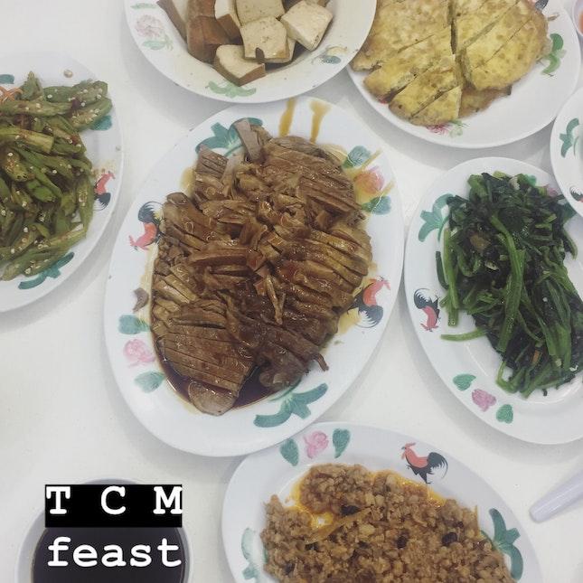 Teochew porridge ($67 for 6pax)