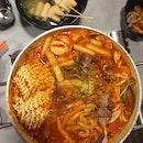 Tteokbokki Stew with Beef Brisket ($30)