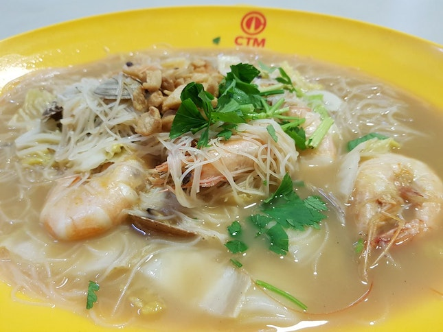 Decently Priced Seafood White Bee Hoon