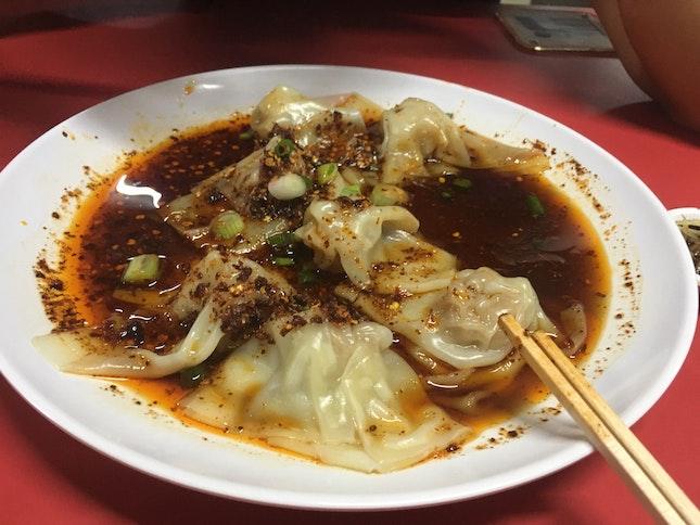 Definite Must Try 红油抄手!