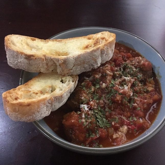 Tangy Meatball Stew ($16)