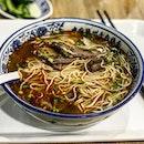 #Burpple #yummy beef noodles - hangover food