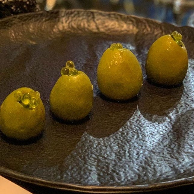 #burpple marinated olives starters