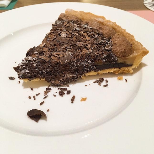 Chocolate Banana Banoffe Pie