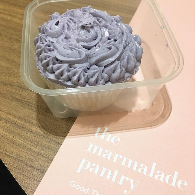 Lavender Sugee Cupcake ($5)