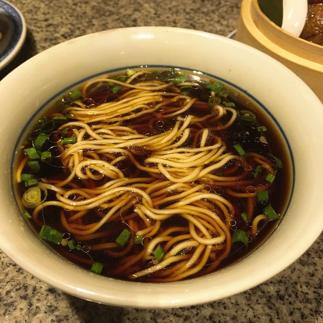 Jinling Noodles In Light Soy Sauce Broth $4.80