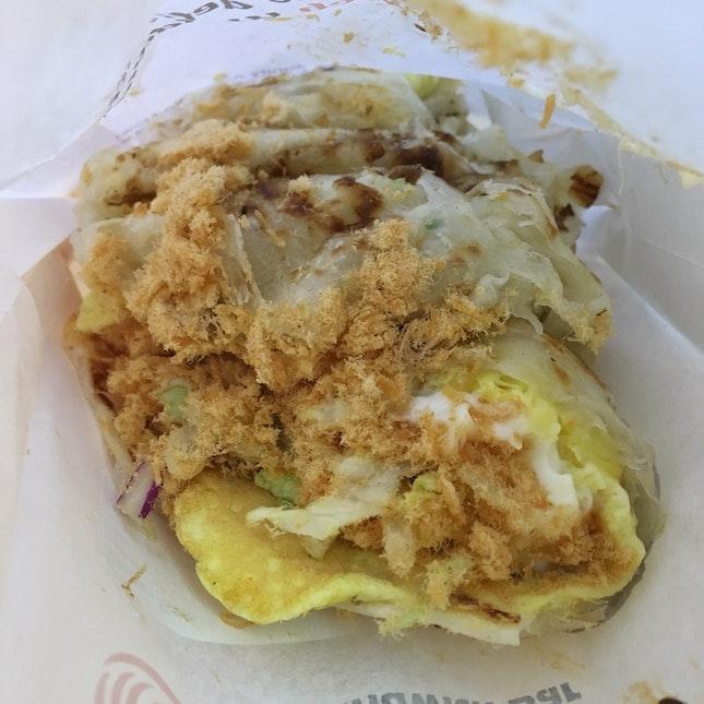 Chicken Floss Sandwich $4.90