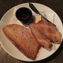 Sourdough Toast with Fig Jam ($7)