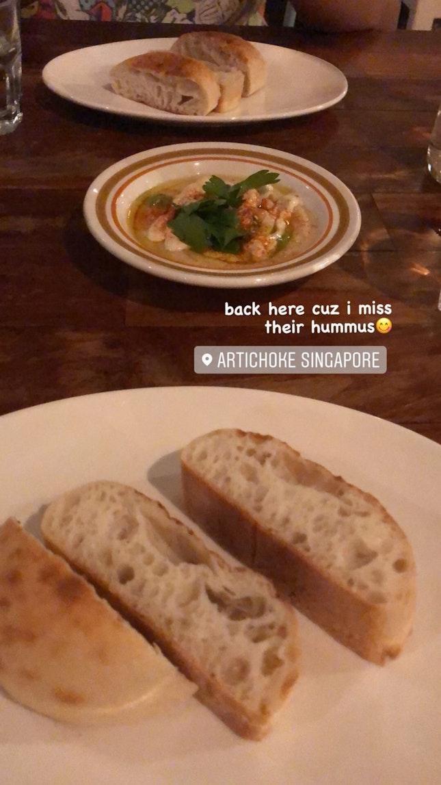 Get Their Hummus & Bread