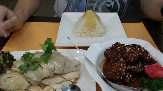 Chicken(14, Different Portions Available) And Imperial Pork Ribs(13)