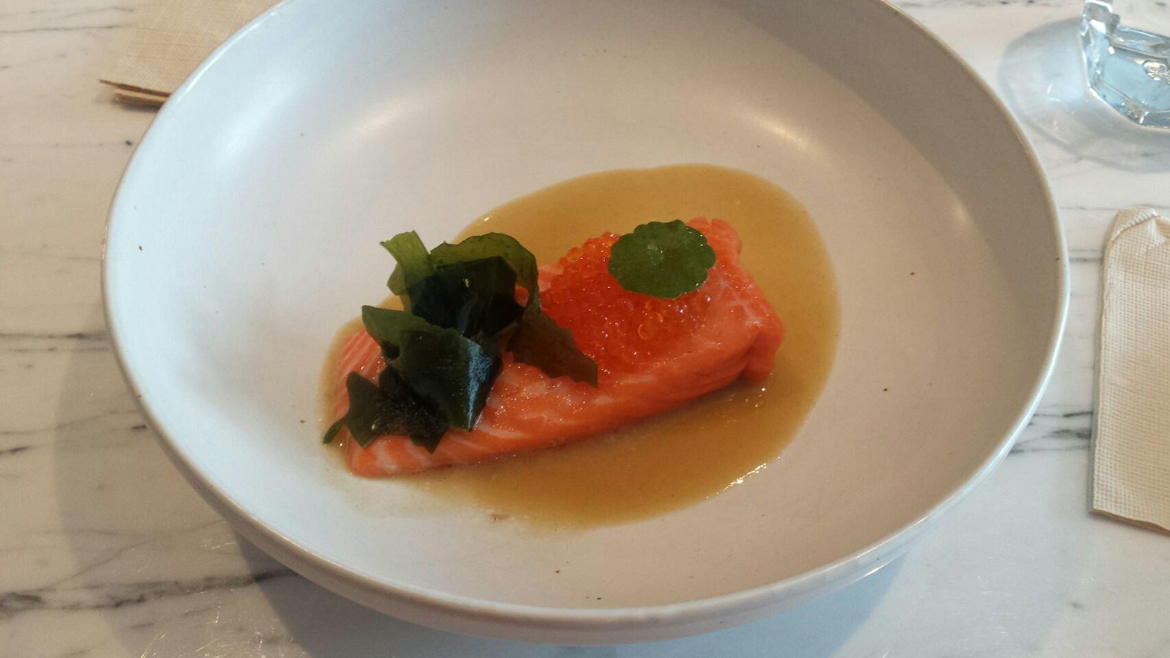 Fjord Trout (Part Of Dinner Menu, 47++)