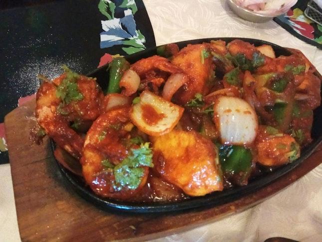Seafood Sizzler Half Portion 27++