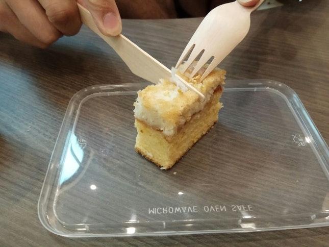 Lemon Coconut Cake (Part Of PC)