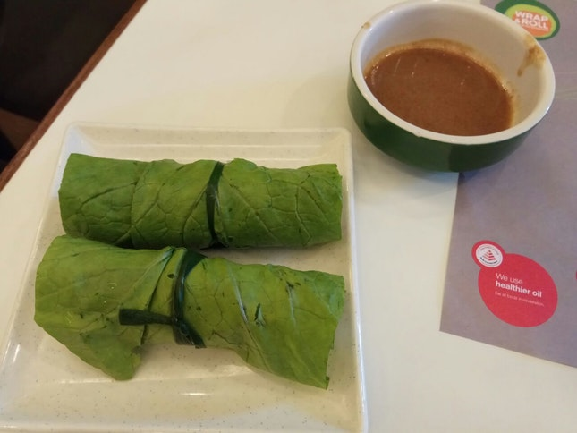 Mustard Leaf Roll $1++ add On For Lunch Set