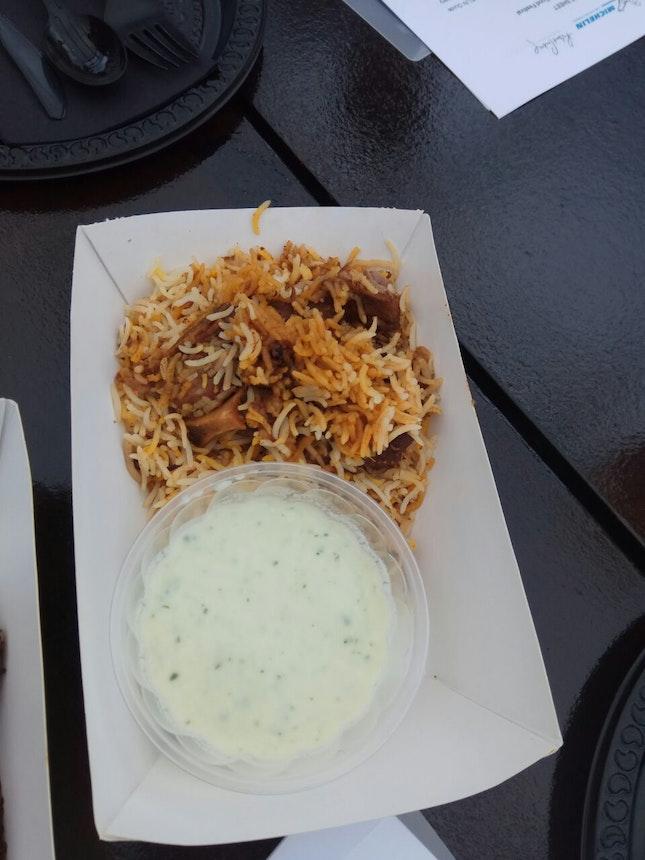 Mutton Briyani (Michelin Guide Street Food Festival 2018)