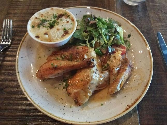 Rotisserie Half Chicken 32++