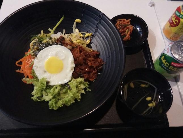 Spicy Pork Bibimbap Set 9.9